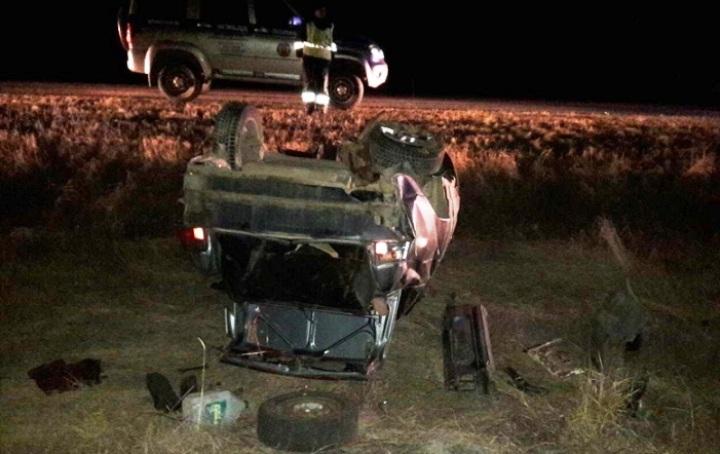 Под Волгоградом перевернулась «десятка»: шофёр умер, пассажир в клинике