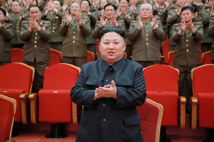 ВКНДР сообщили  обиспытании мощного ракетного мотора