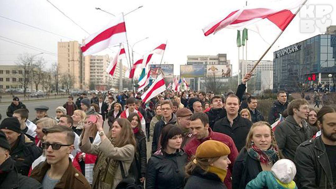 ВВитебске схвачен один изучастников акции вчесть Дня Воли