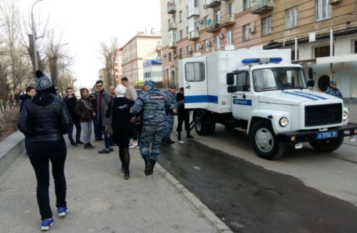 ВВолгограде возбуждено дело понападению наполицейского впроцессе акции