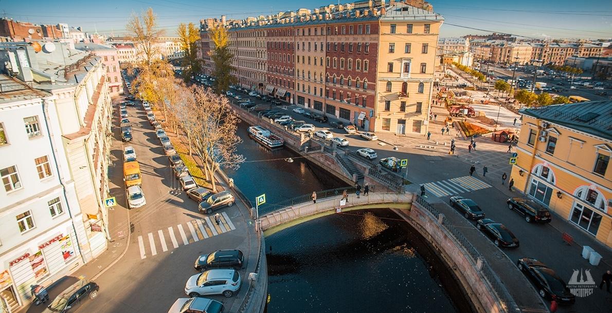 Стало известно, сколько Смольный потратит накапремонт Сенного моста вПетербурге