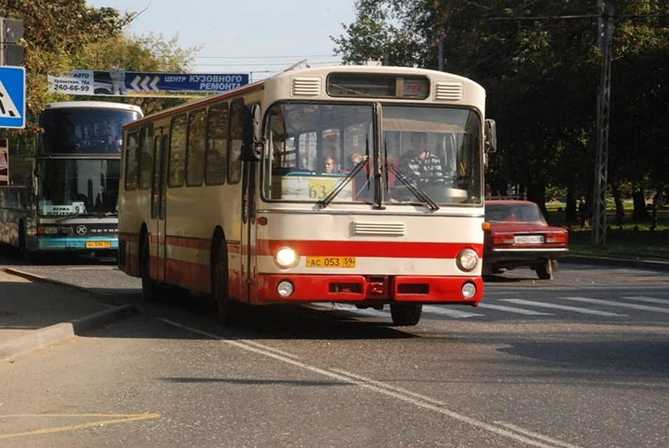 ВПерми поменяется движение автобусного маршрута №63