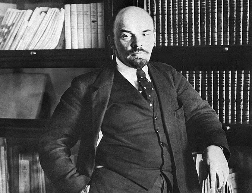 Владимир Ленин в 1918 году. ФОТО ТАСС