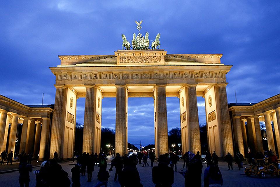 Bласти отказались подсветить Бранденбургские ворота в центре столицы Германии в знак солидарности с нашими погибшими