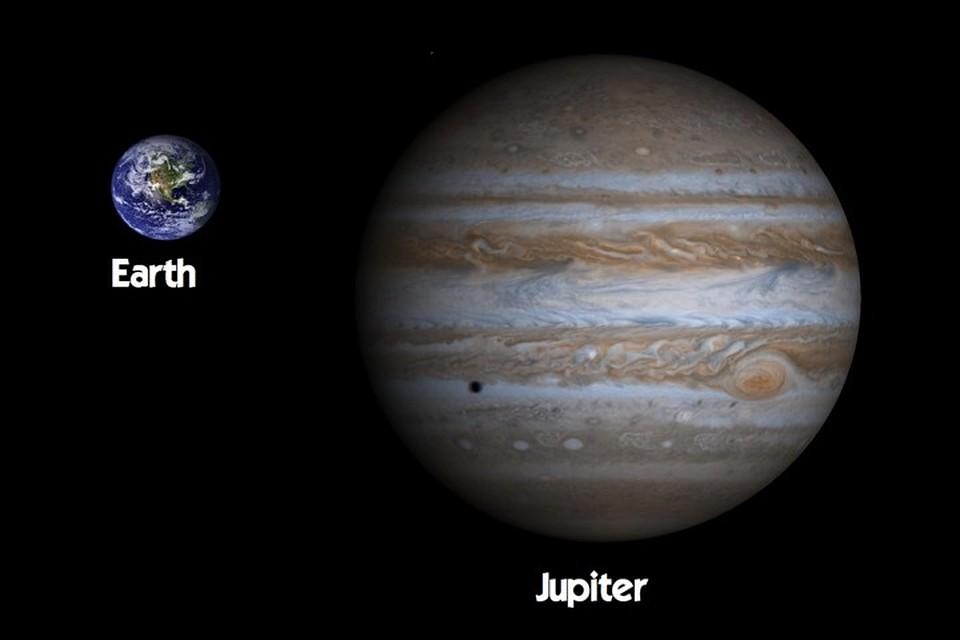 Юпитер приблизился к нам.