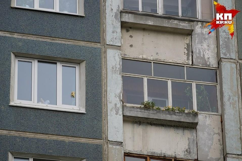 Нетрезвая кемеровчанка выпала счетвертого этажа