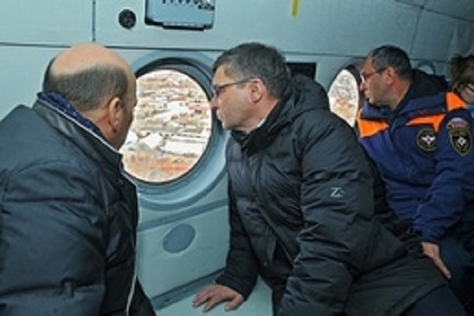 Владимир Якушев лично проверил подготовку кпаводку вИшиме