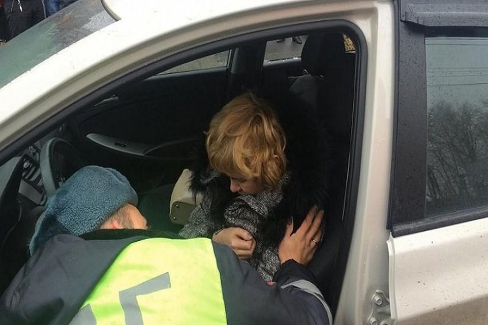ВКазани пьяная автоледи устроила потасовку сполицейским