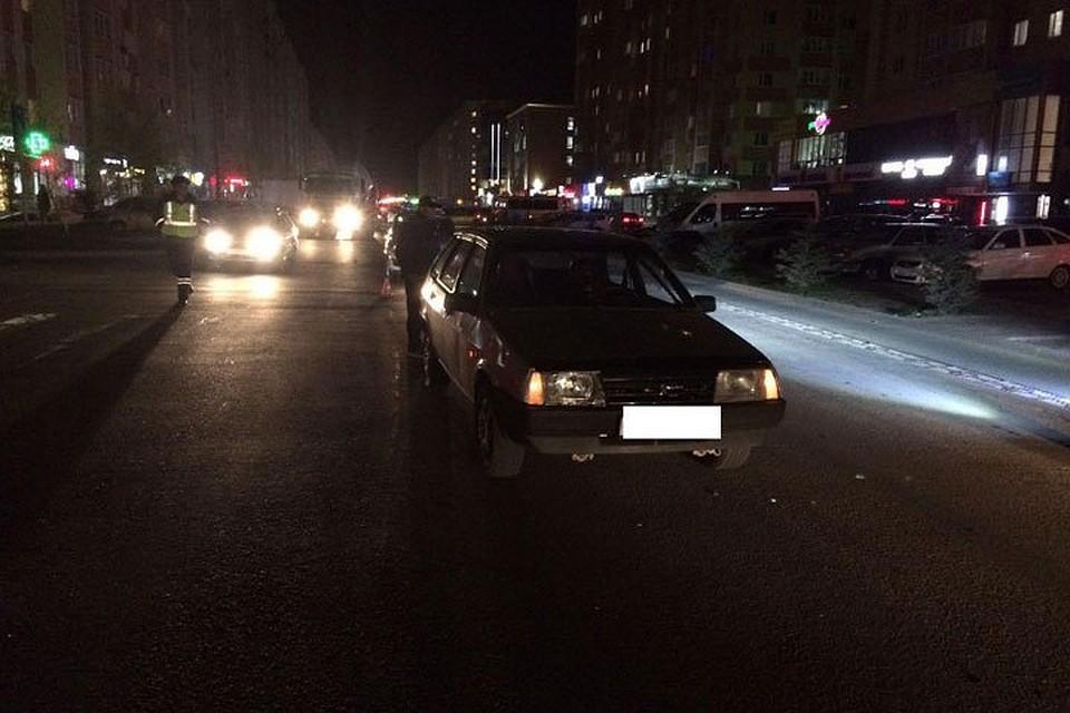 ВСтаврополе под колёса легковушки угодила  16-летняя девушка
