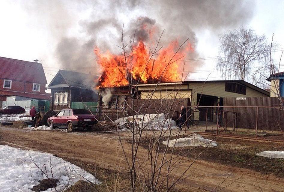 МЧС: 4 человека, включая двоих детей, погибли впожаре вИжевске