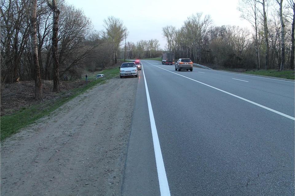 ВОрле шофёр иномарки попал вДТП и скончался отинфаркта