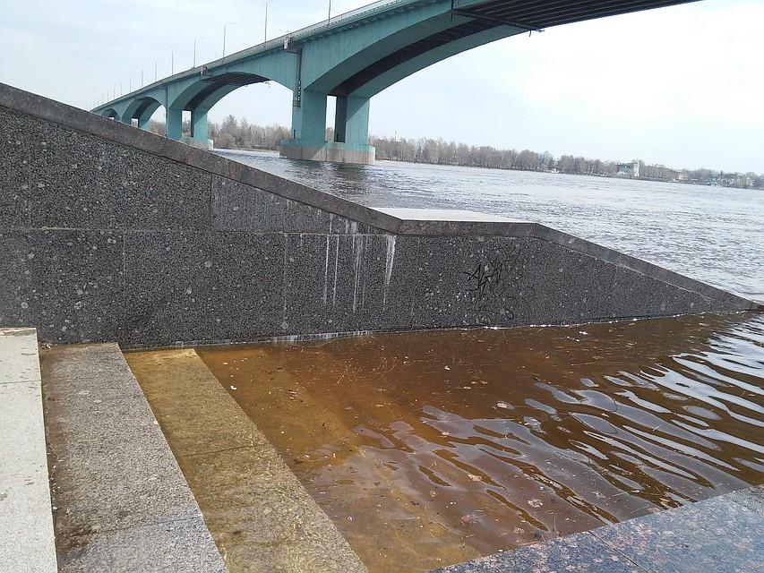 Уровень воды вВолге вЯрославской области неделю будет превышать норму