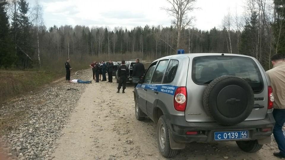 ВКостромской области совершено вооружённое нападение наинкассаторов
