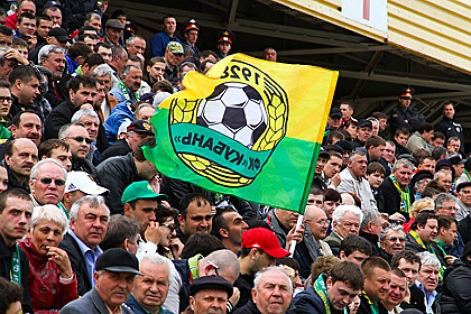 Футболисты «Кубани» проведут матч вКалининграде