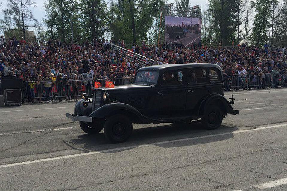 Впараде вСамаре участвовал собственный автомобиль Жукова