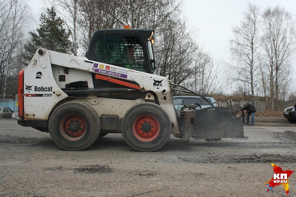 ВКирове стартовал ремонт дорог