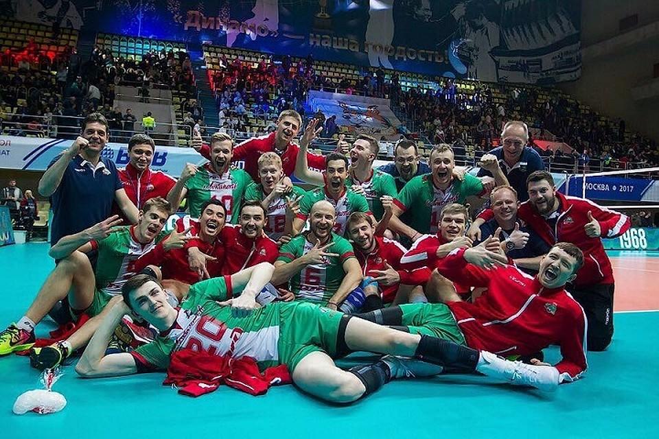 Волейболисты новосибирского «Локомотива» сегодня сыграют за«бронзу» чемпионата РФ