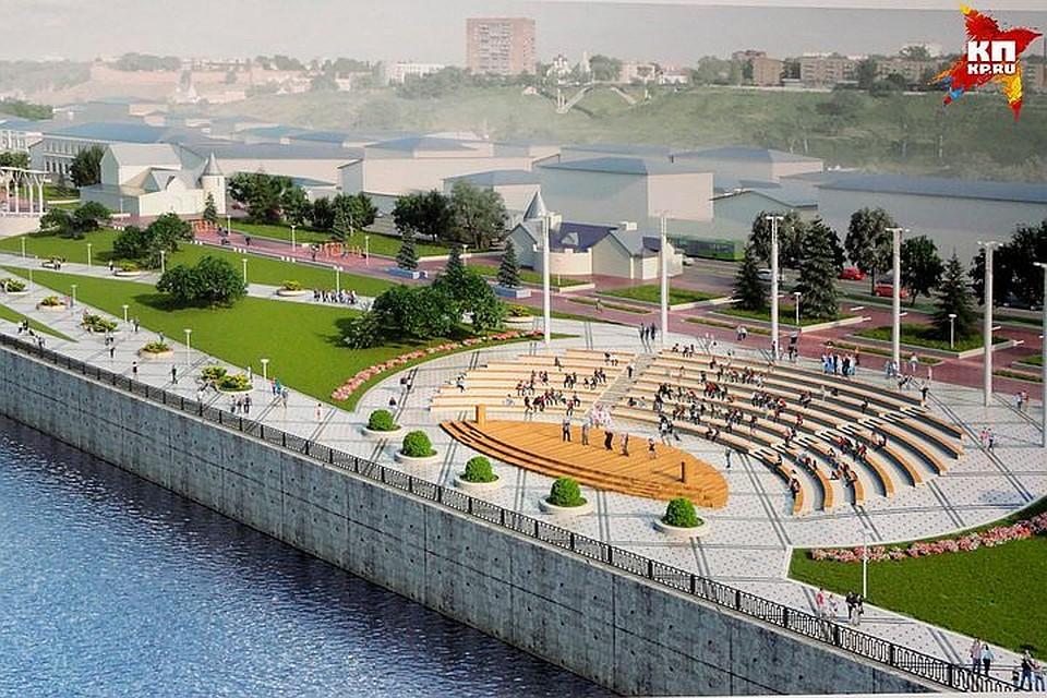 Объявлено оторгах за договор  наблагоустройство Нижне-Волжской набережной Нижнего Новгорода