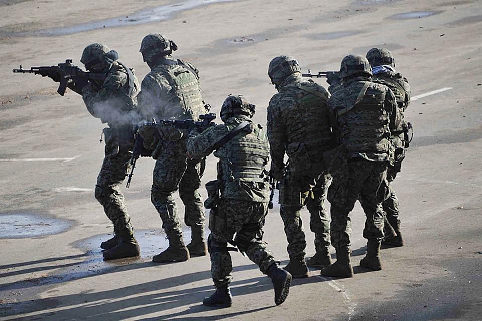 Антитеррористические учения проходят настадионе «Лужники» всубботу