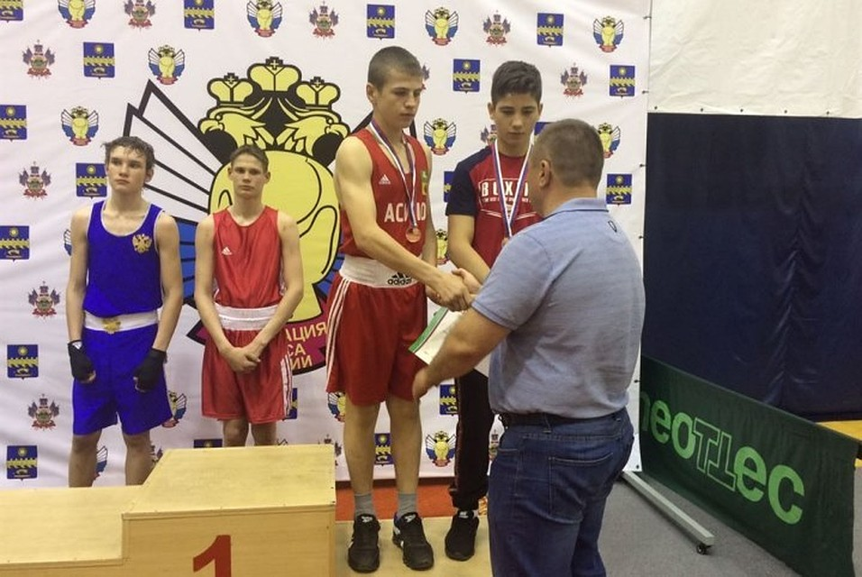 Боксер изТульской области стал 3-м начемпионате Российской Федерации