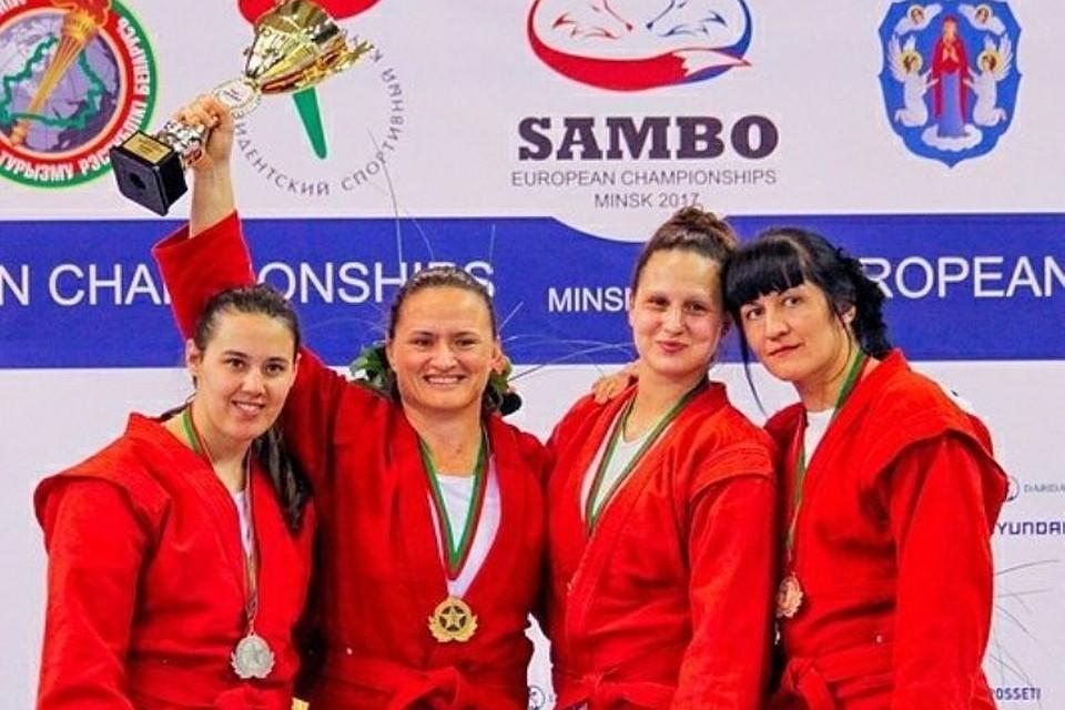 Тверская самбистка Дайна Амбарцумова стала бронзовым призером чемпионата Европы