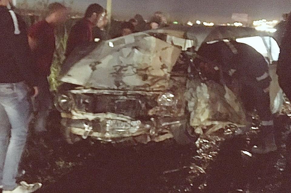 ВДТП под Краснодаром умер шофёр «копейки»