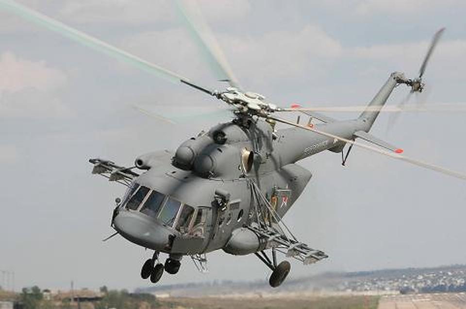Вертолёты ЮВО учавствуют вучениях потушению пожаров вРостовской области