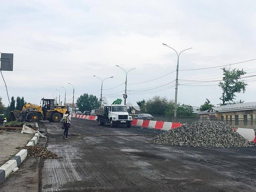 Олег Фурсов проинспектировал работы наЮжном мосту