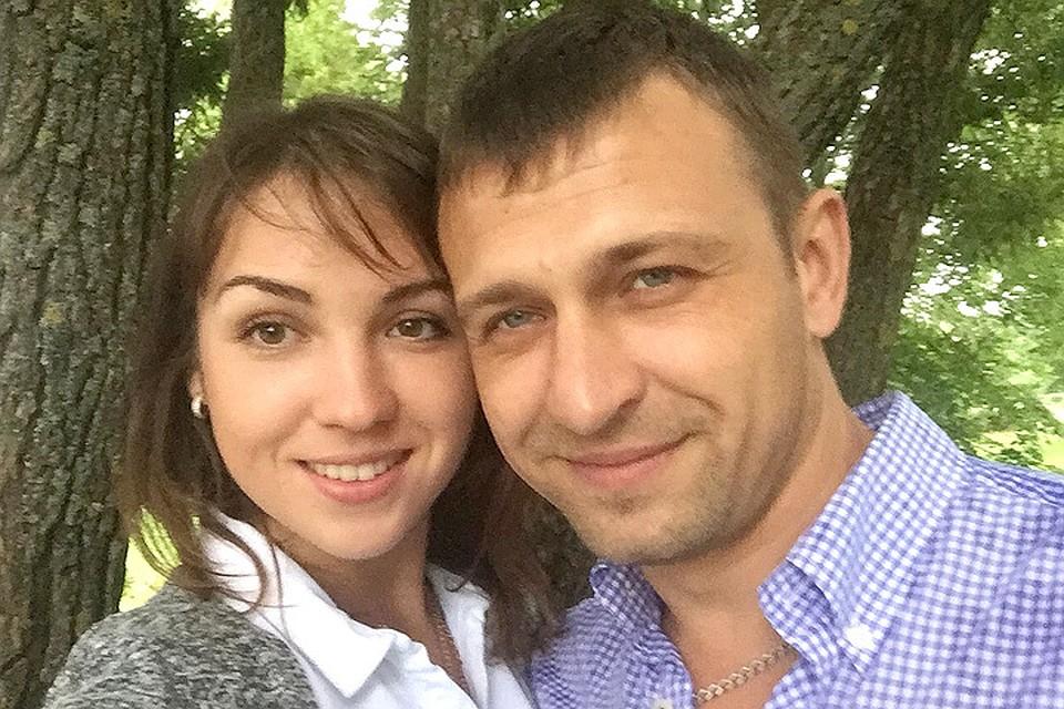 Вячеслав Савельев и его гражданская жена Марина, единственная выжившая в трагедии.