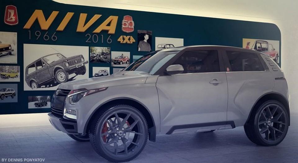 Представлен дизайн нового джипа  отАвтоВАЗа— Лада  California