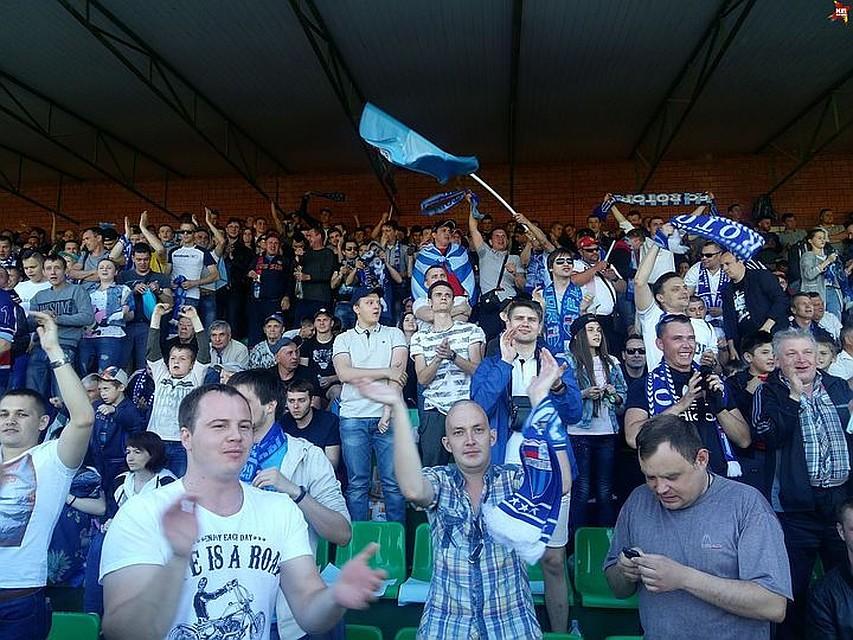 «Ротору-Волгоград» выписали штраф занарушение дисциплины фанатами