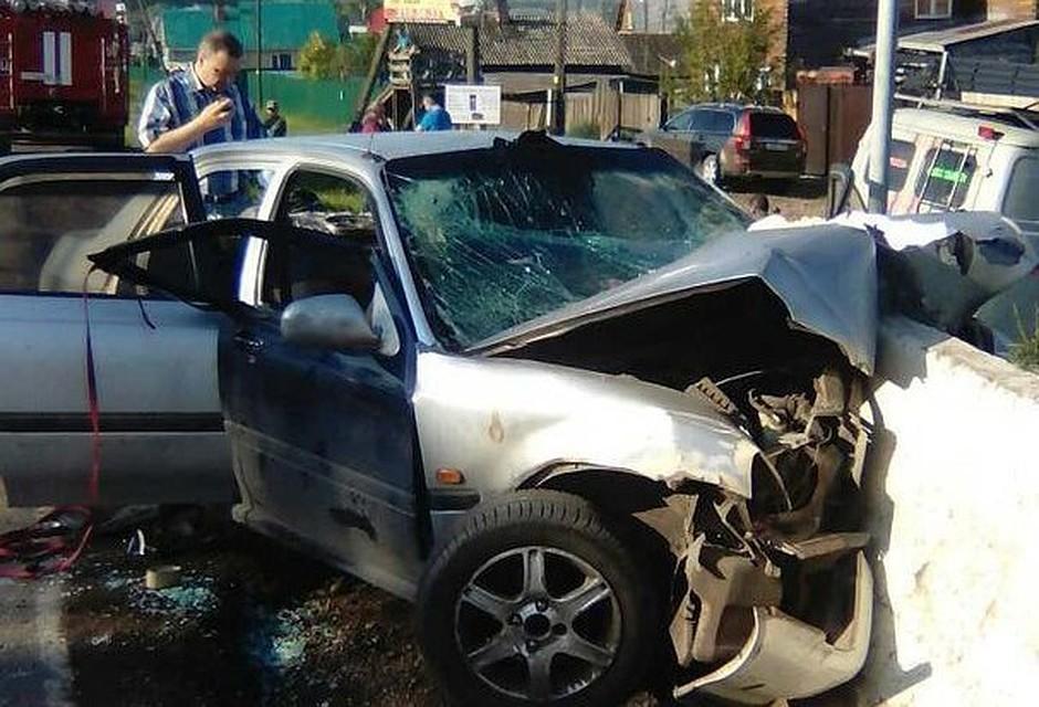 ВДТП вКрасноярском крае умер несовершеннолетний шофёр иодин изпассажиров