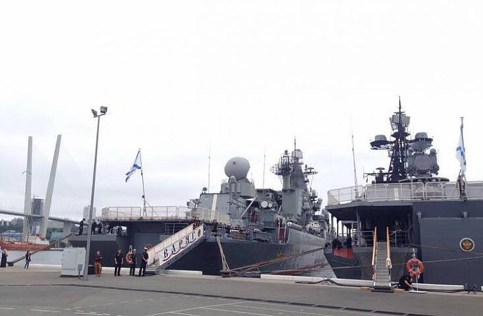 ВоВладивосток вернулся отряд кораблей Тихоокеанского флота