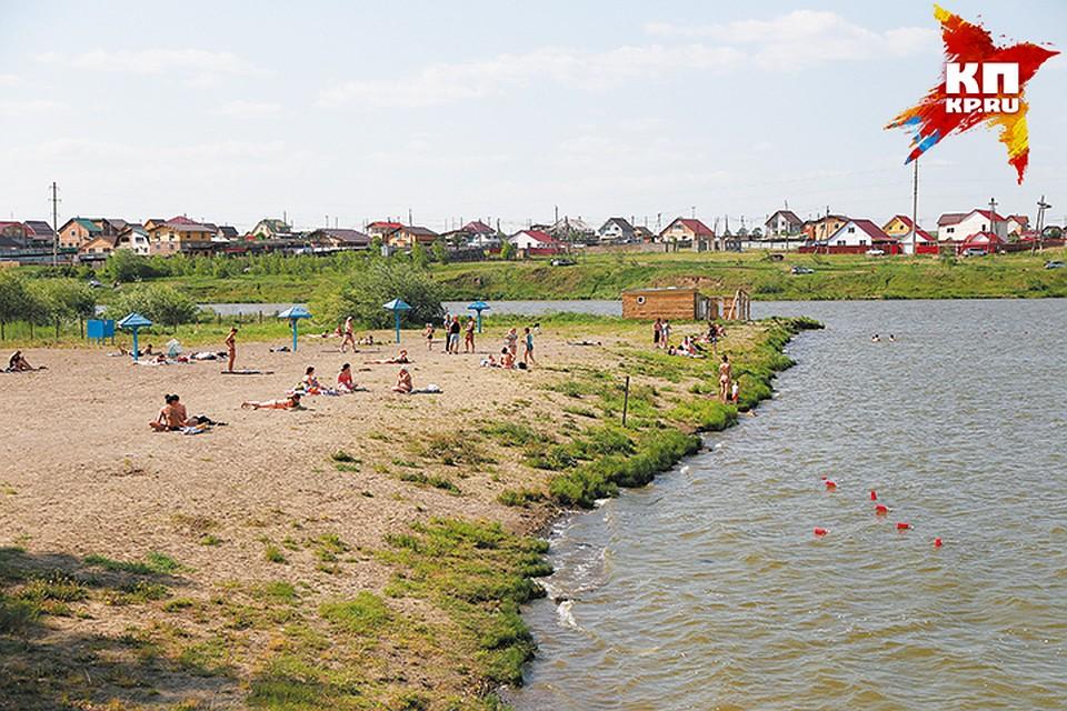 Красноярские пляжи: загорать можно, купаться— ни-ни!