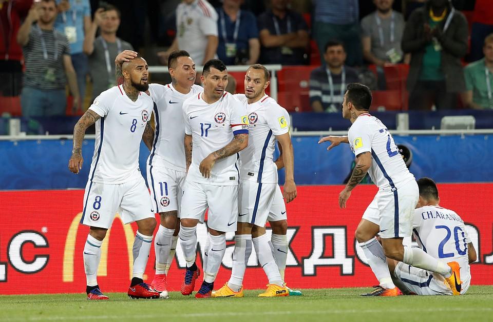 Капитан сборной Чили пропустит 1-ый матч команды наКубке конфедераций