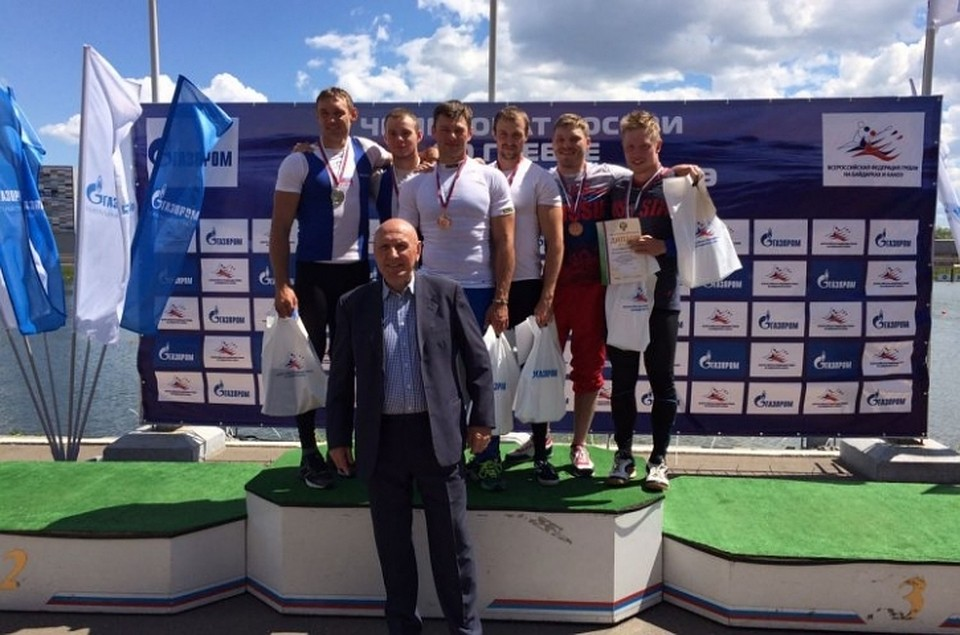 Гребец Кирилл Шамшурин завоевал вторую медаль Чемпионата РФ