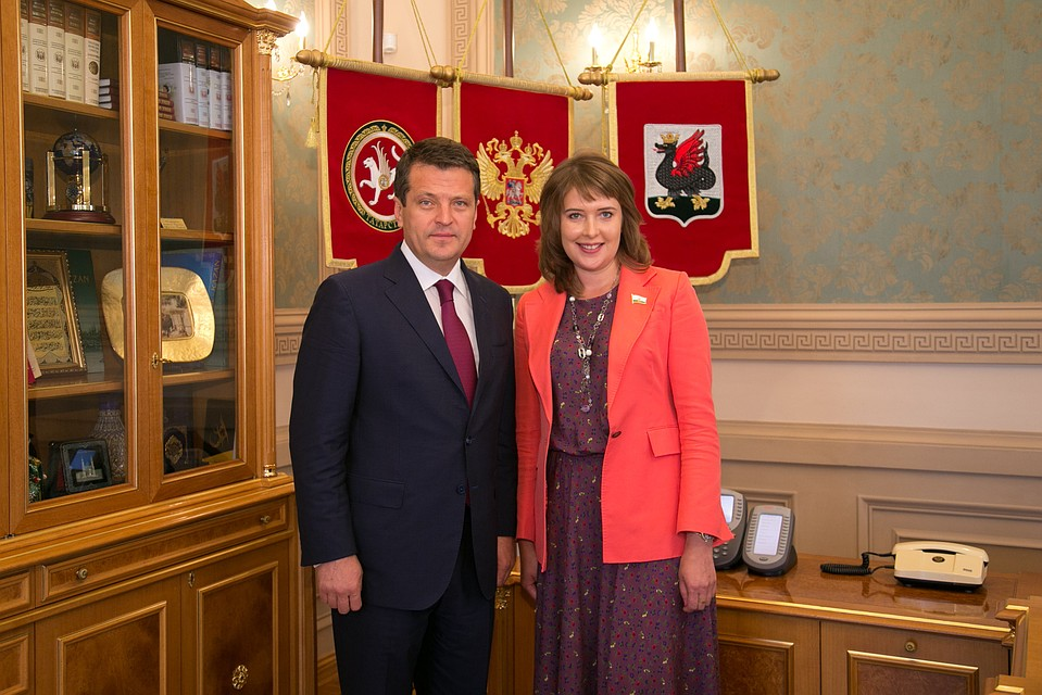 Первым вице-мэром Казани стала Евгения Лодвигова