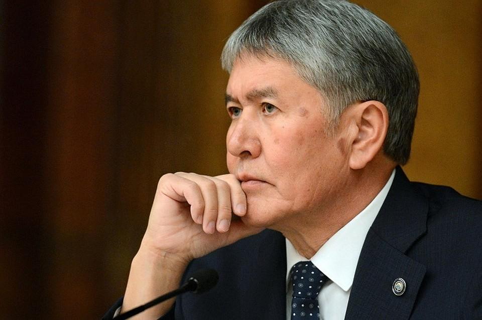 ВКазань прибыл президент Киргизии Алмазбек Атамбаев