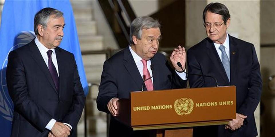 ВШвейцарии восстанавливаются переговоры овоссоединении Кипра