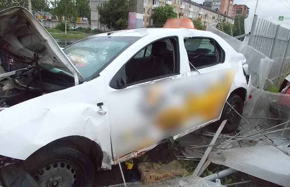 Нетрезвый таксист поломал вДТП как минимум 10 авто