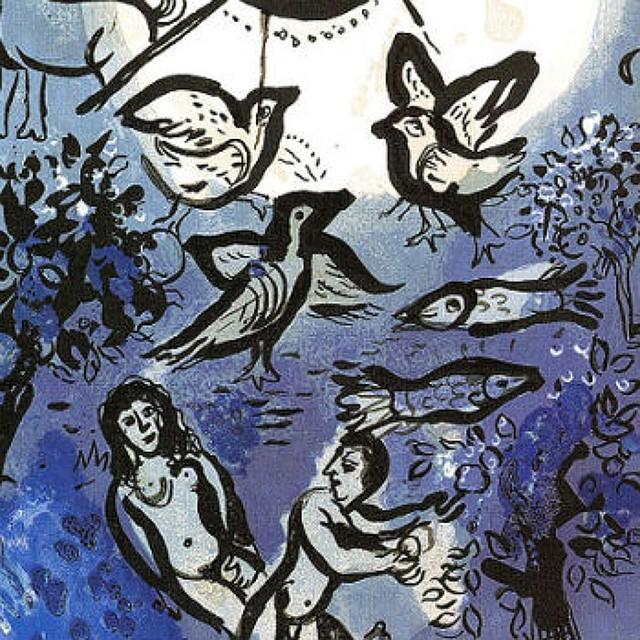 Арт-перформанс «Васильковое небо», посвященный 130 летию Марка Шагала, прошел вВитебске