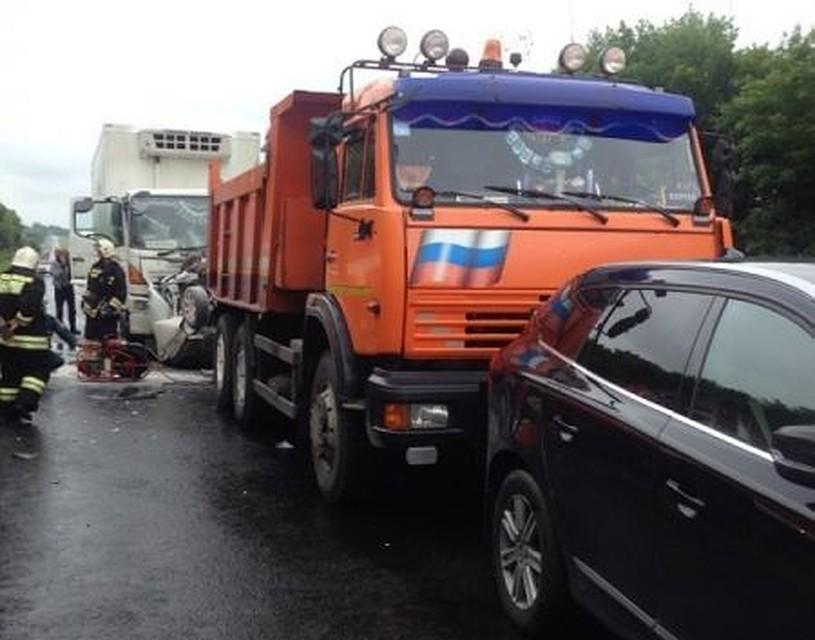 ВТуле наНовомосковском шоссе случилось массовое ДТП