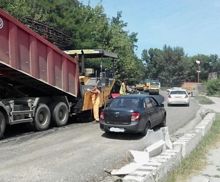 Дорожный ремонт наулице Орской вРостове завершится к1сентября
