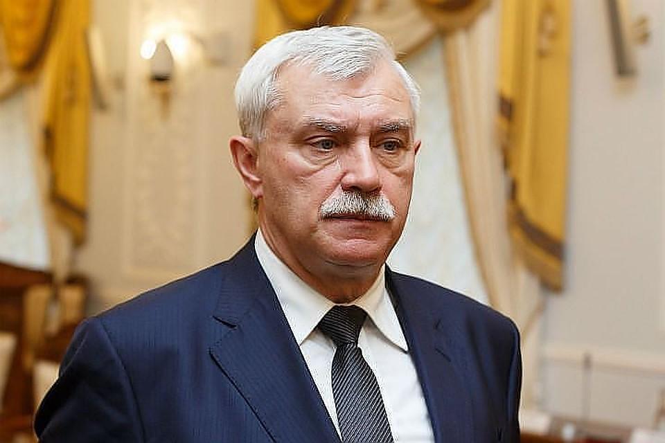 Губернатор Петербурга пригрозил зачисткой в совете построительству