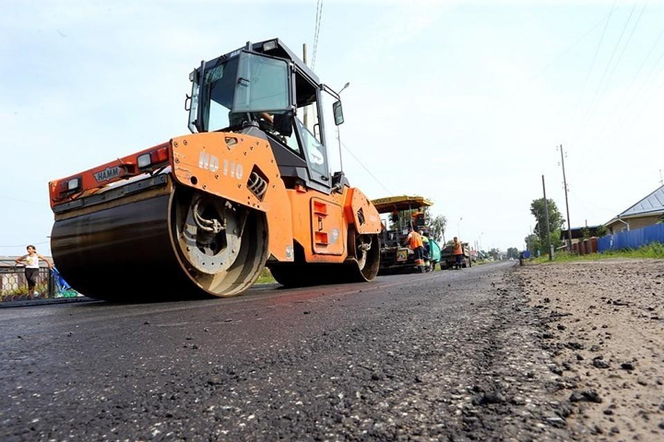 Томские дороги отремонтированы на56%
