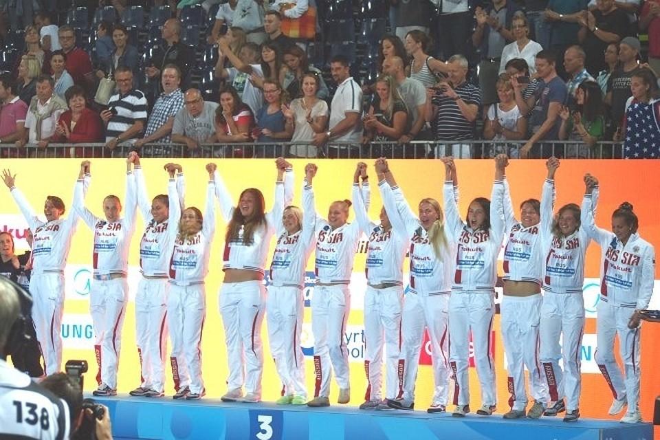 Русские ватерполистки проиграли американкам вполуфинале чемпионата мира