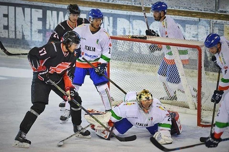 Омский «Авангард» одержал победу товарищеский матч усборной Италии— вовертайме