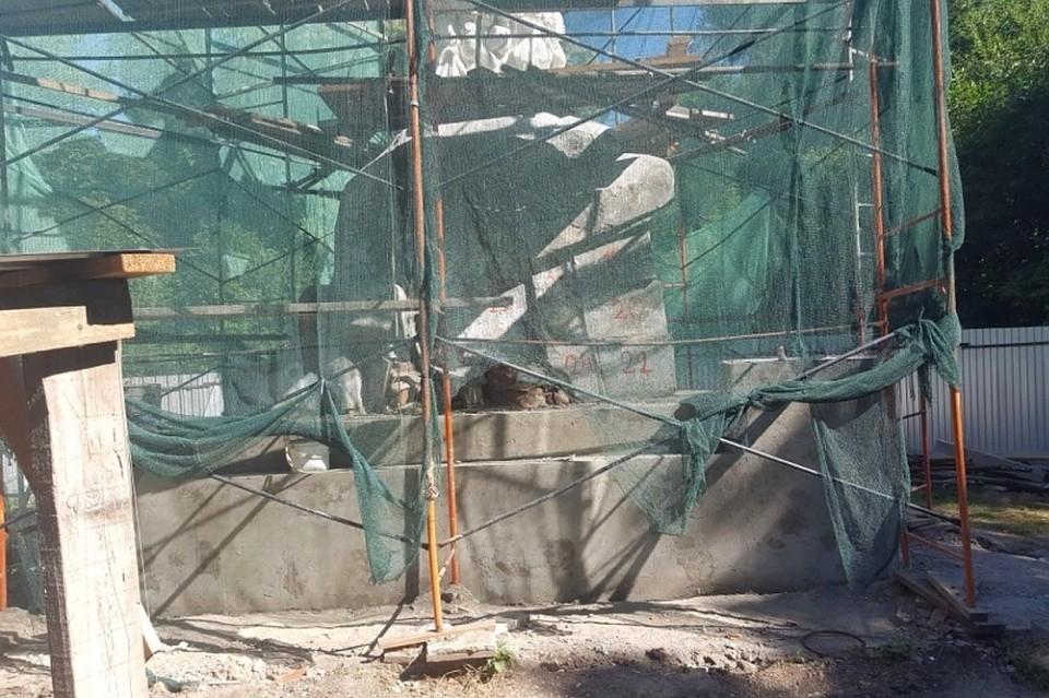 ВКраснодаре кконцу августа закончится реставрация монумента Ленину