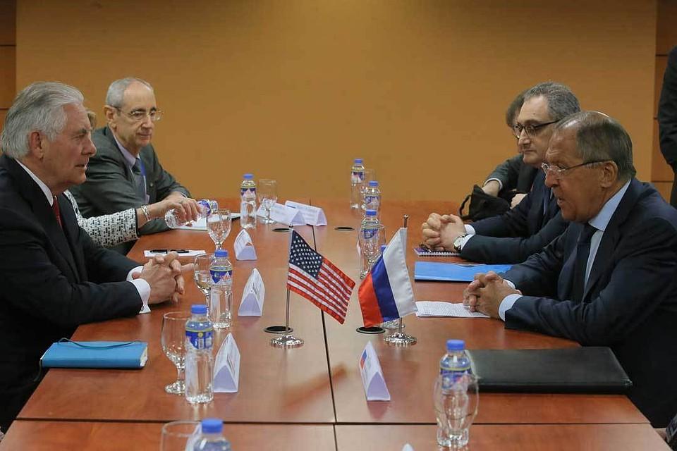 США обещали ответить натребование осокращении дипмиссии к1сентября