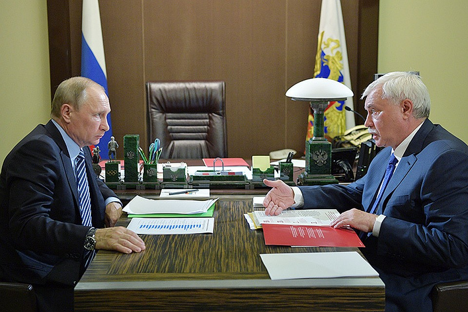 Владимир Путин озаботился уплотнением Санкт-Петербурга